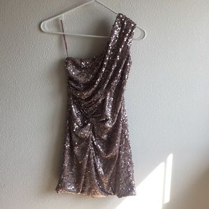 as u wish | sequin cocktail dress